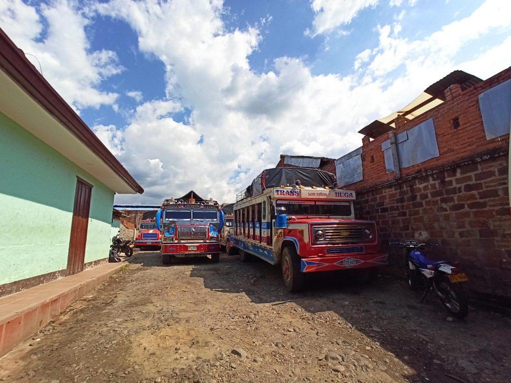 Buses rurales en Buga Valle del Cauca