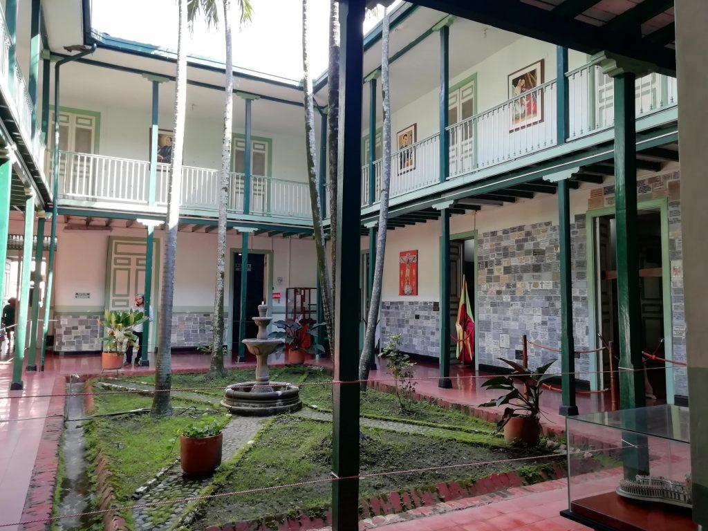 Patio del Museo, Guadalajara de Buga.