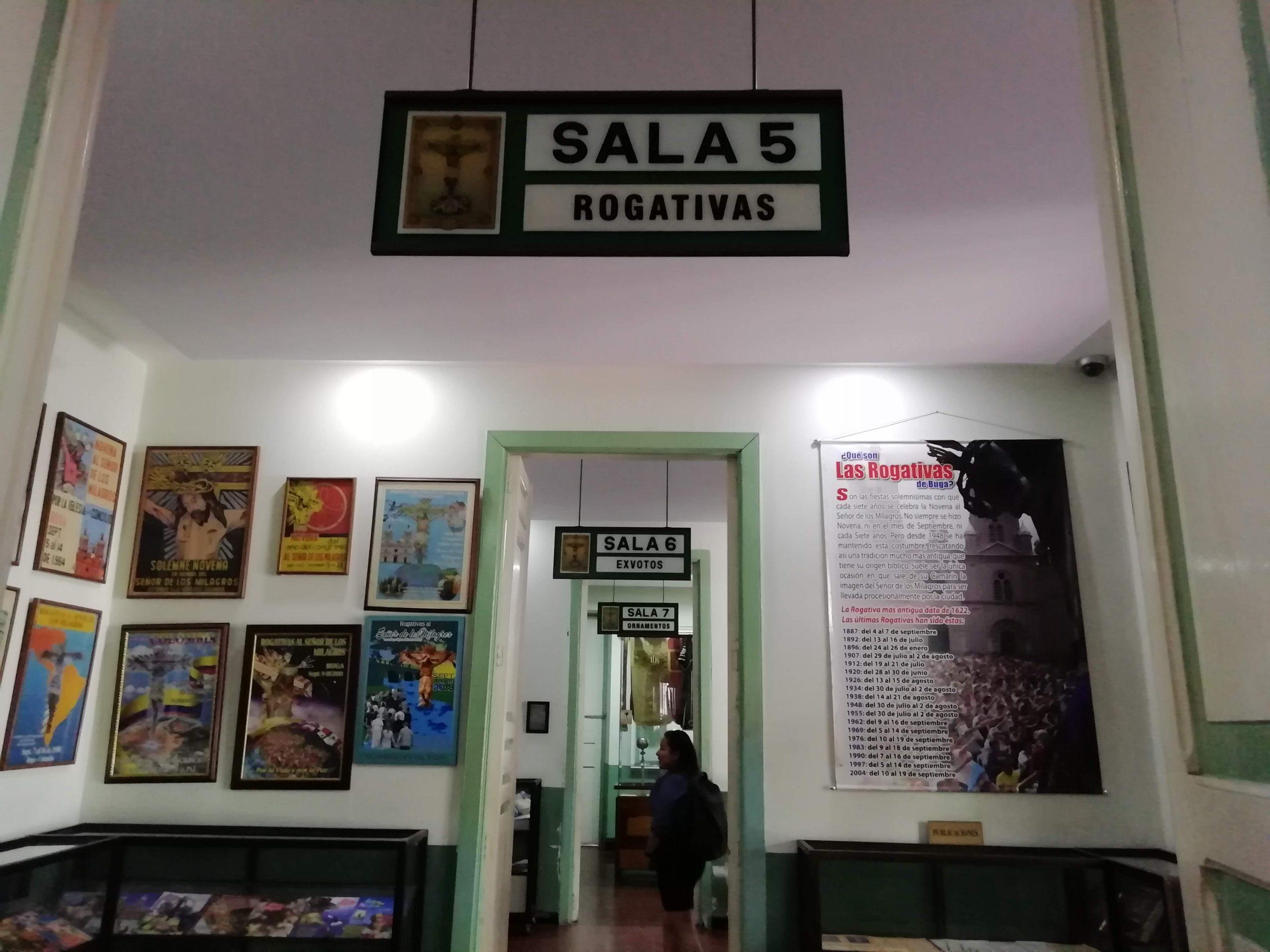 Sala 5 de rogativas Museo del Milagroso