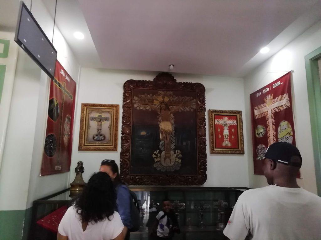 Sala del Señor de los Milagros de Buga