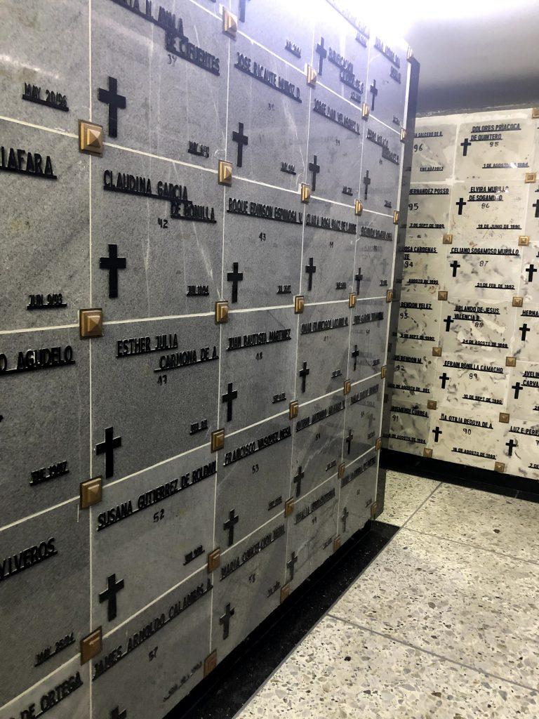 Cenizas de Fallecidos en la ciudad de Buga