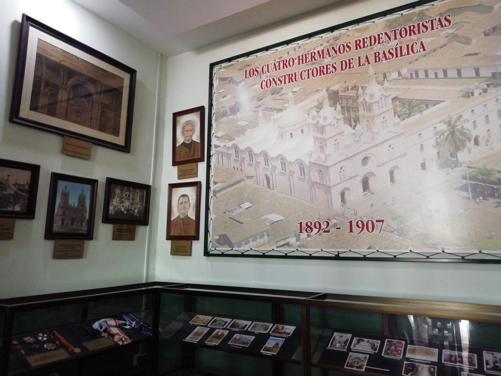 Legados de la Basílica del Señor de los Milagros en el Museo