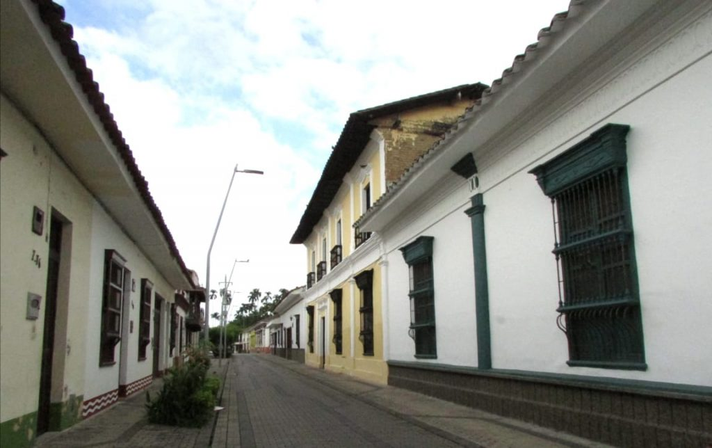 Calles peatonales Buga